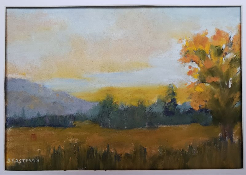 Golden Glow painting by Sarah Eastman