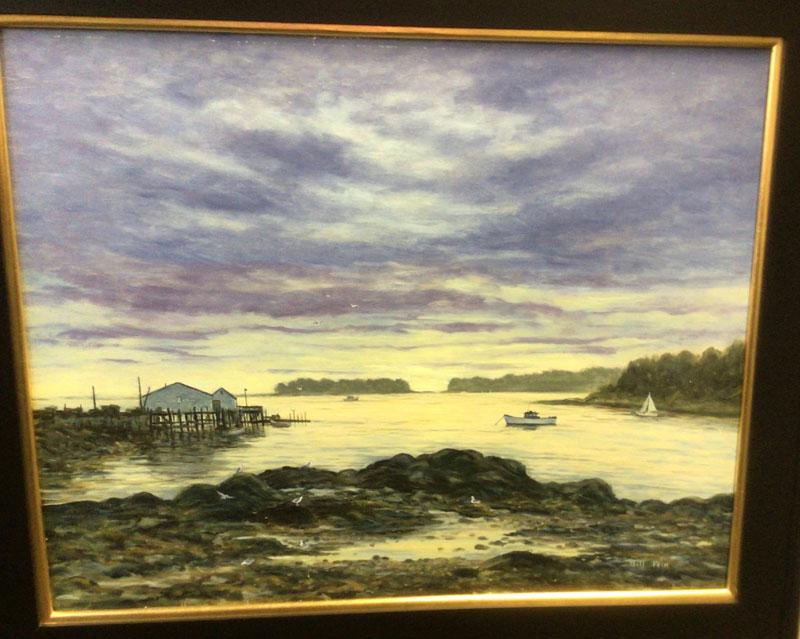 Deer Isle Maine Painting