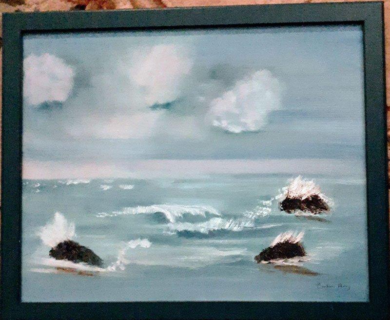 Waves at Ogunquit