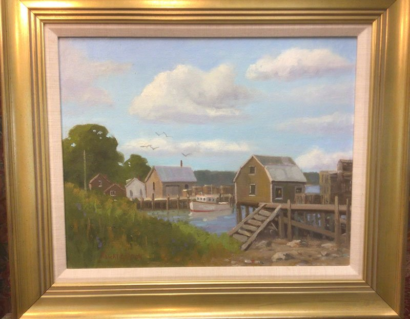 Cundy's Harbor painting by Robert Gordon