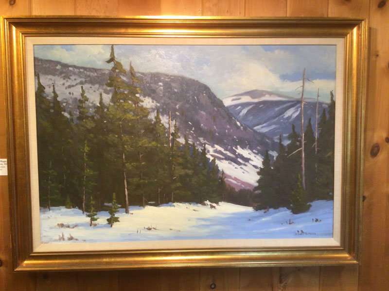 In the Mountains painting by Robert Gordon