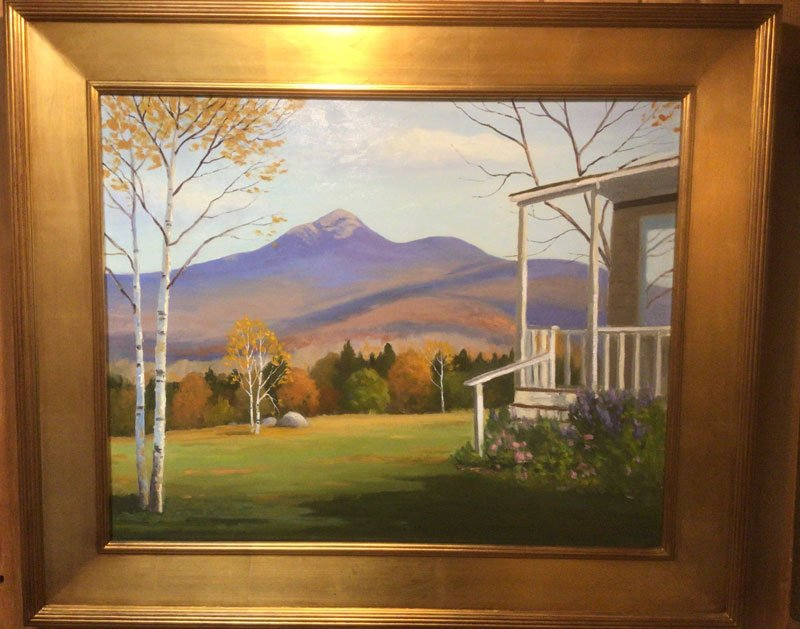 Look to the Mountain painting by Robert Gordon