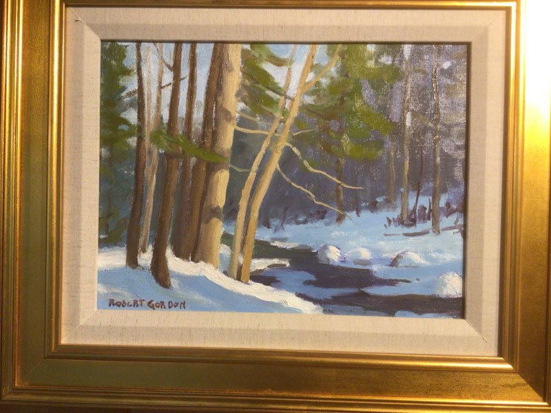 Oliverian Brook painting by Robert Gordon