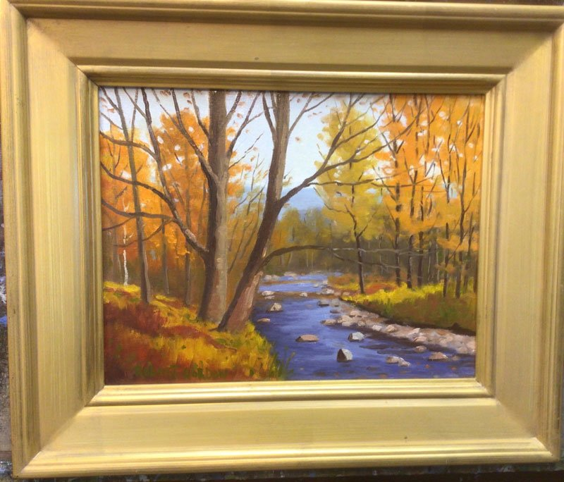 Peabody River painting by Robert Gordon