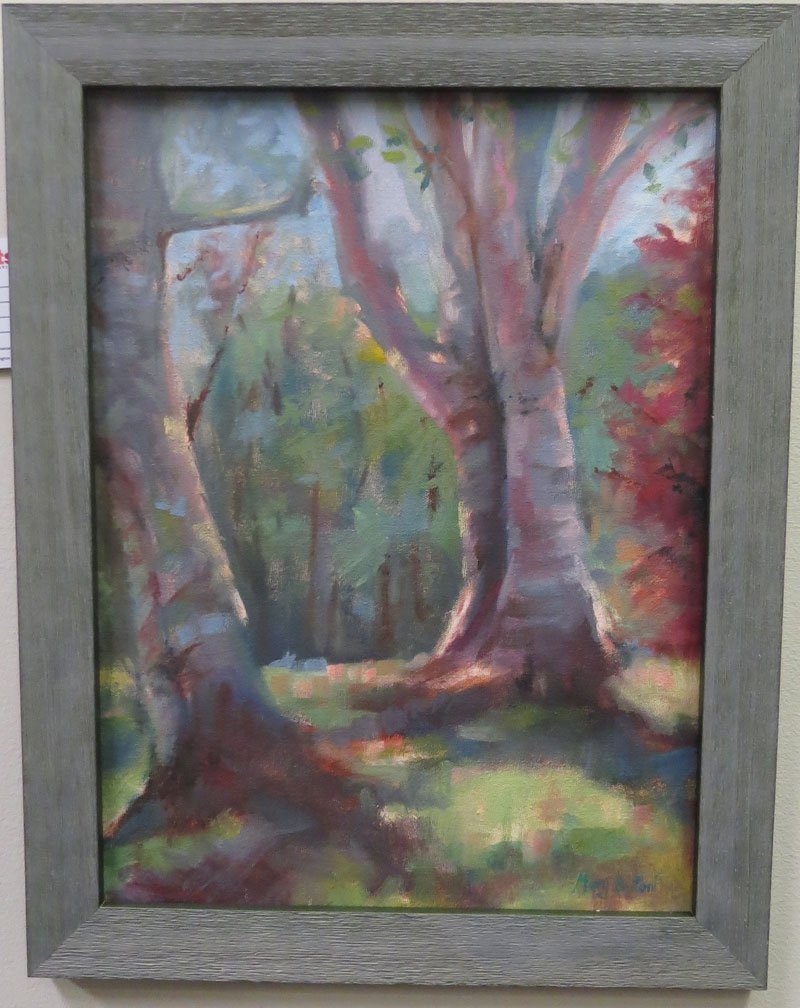 There's a Warm Glow Mary Bastoni painting